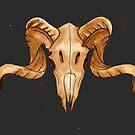 Goat Skull [Ram Skull] by ImportAutumn