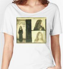 Janis Joplin Mug Shot 1969 Photo Gold Women's Relaxed Fit T-Shirt