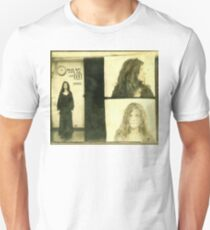 Janis Joplin Mug Shot 1969 Photo Gold Unisex T-Shirt