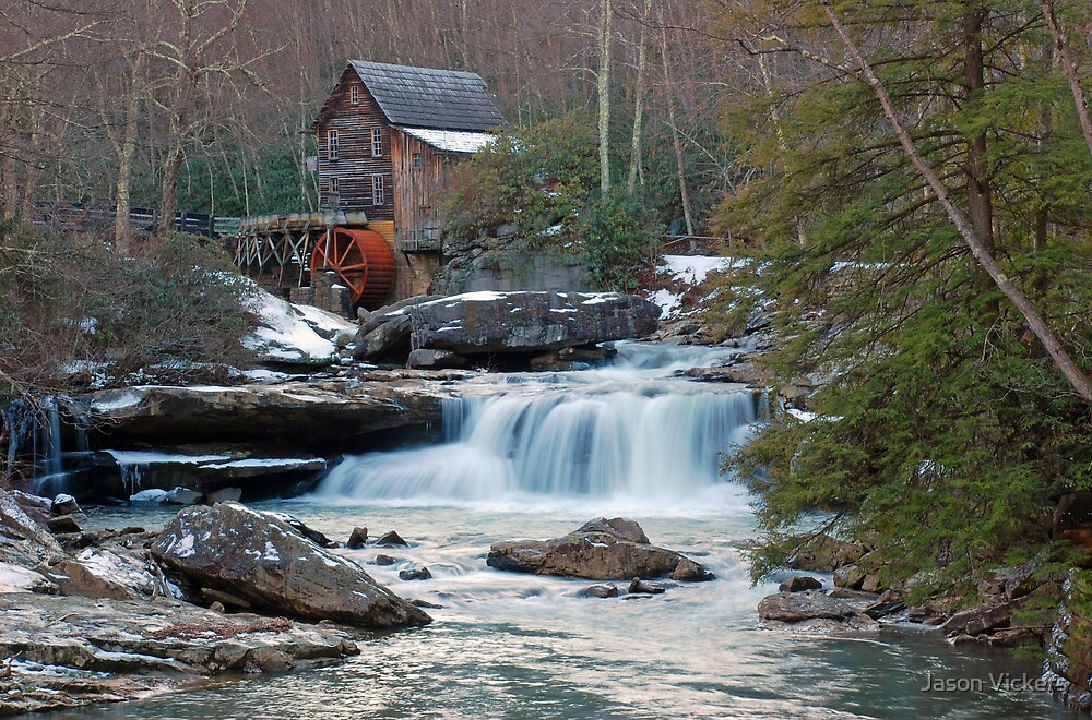 Glade Creek Grist Mill by Jason Vickers