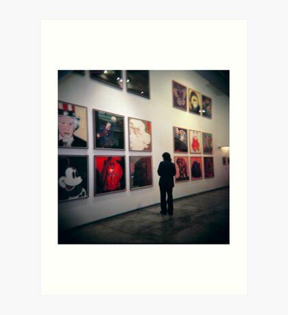Warhol's Art Print
