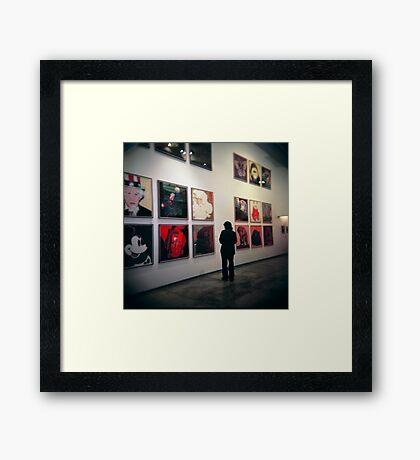 Warhol's Framed Print