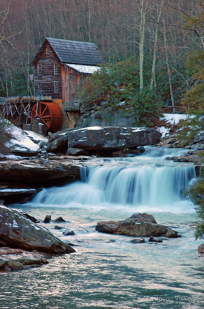 Glade Creek Grist Mill II by Jason Vickers