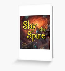 Slay the Spire Game Greeting Card