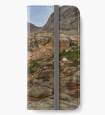 Peacock Lake in Rocky Mountain National Park, Colorado. iPhone Wallet/Case/Skin