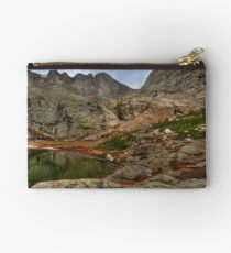 Peacock Lake in Rocky Mountain National Park, Colorado. Studio Pouch