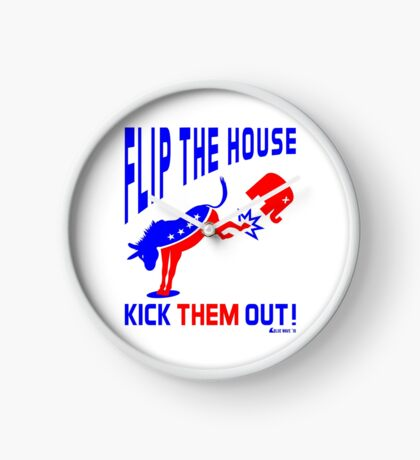 Flip The House Kick GOP Out Clock