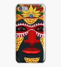 African Tribal Masks iPhone Case/Skin