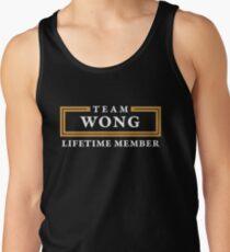 Team Wong Lifetime Member Surname Shirt Tank Top