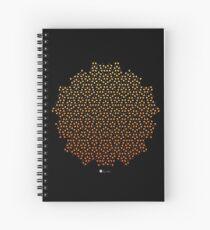Penrose Tiling Spiral Notebook