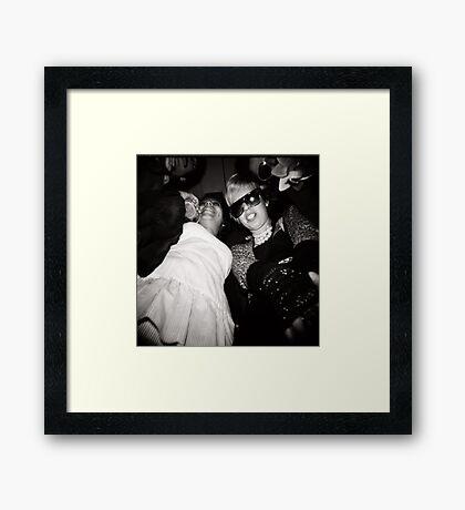 """En el bar el """"Oso"""" Framed Print"""