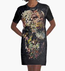 Smyrna-Schädel T-Shirt Kleid