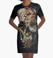 Smyrna Skull Graphic T-Shirt Dress