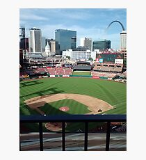 Busch Stadium - St. Louis Cardinals Baseball Photographic Print