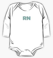 RN Ninja | Registered Nurse Nursing Gift One Piece - Long Sleeve