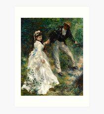 Pierre Auguste Renoir la Promenade Impressionist French Artist Art Print