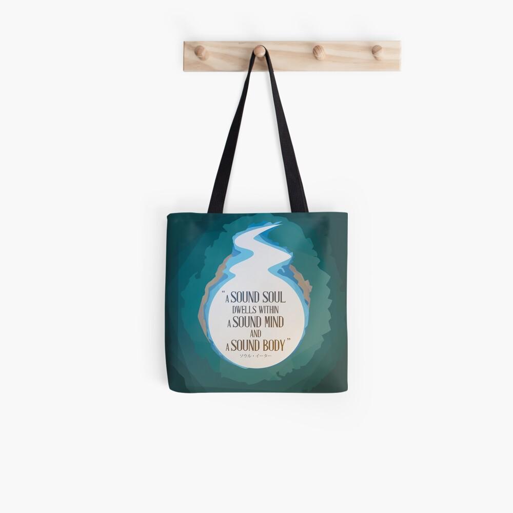 Eine gesunde Seele Stofftasche