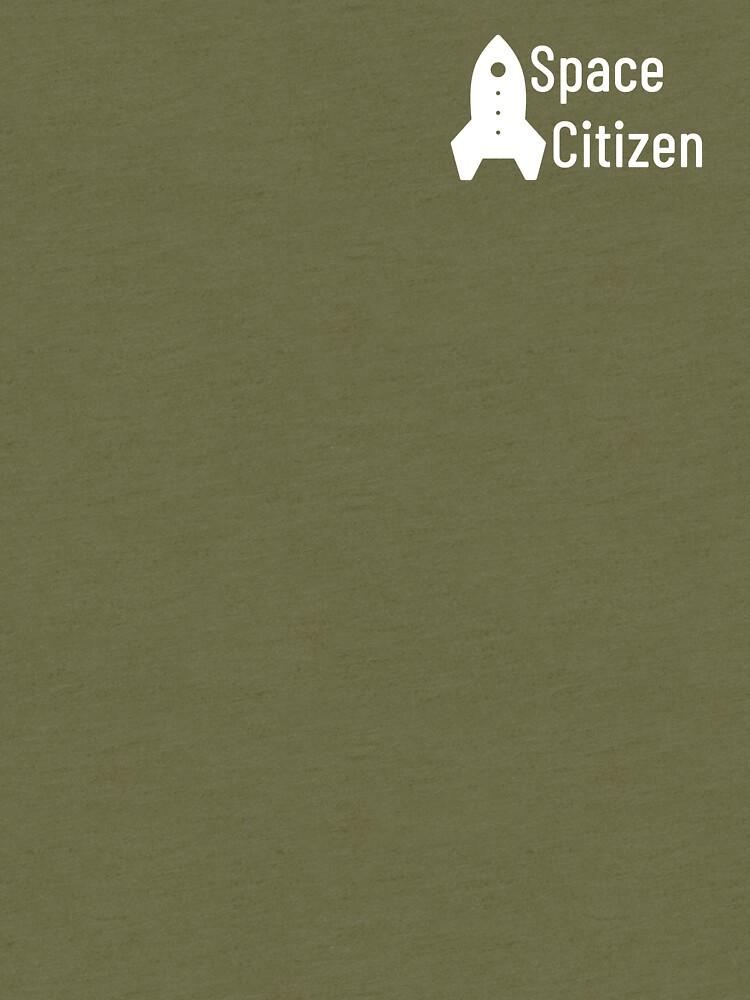 Space Citizen White by spacecitizen