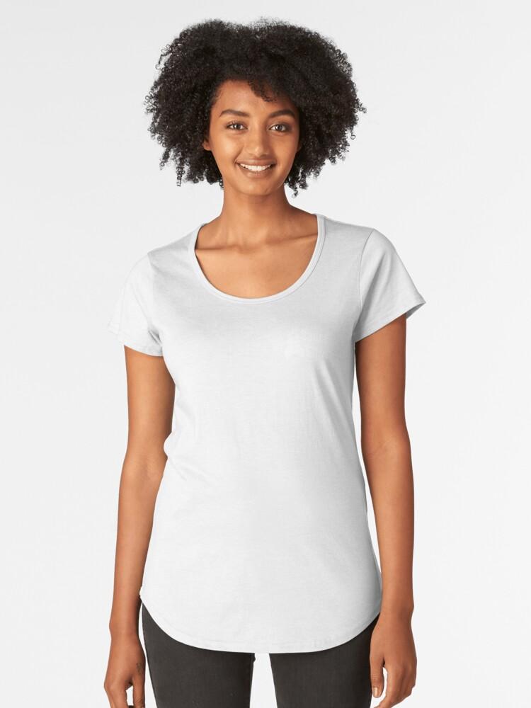 Space Citizen White Women's Premium T-Shirt Front