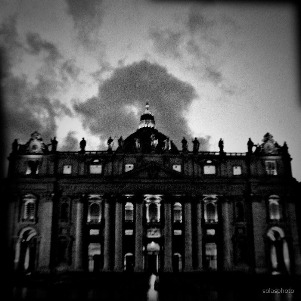 Vatican in Holga by solasphoto