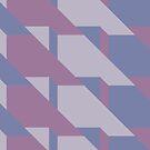 Lavender Way #redbubble #lavender #pattern by designdn