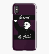 Kim Jong Un - GodSpeed iPhone Case/Skin