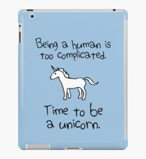 Time To Be A Unicorn iPad Case/Skin