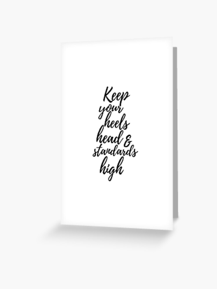 Coco Chanel Quote   Greeting Card