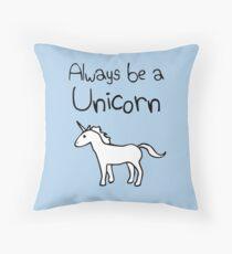 Cojín Siempre sé un unicornio