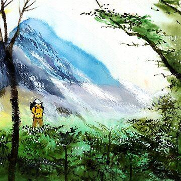 Trekking 1 by arnene