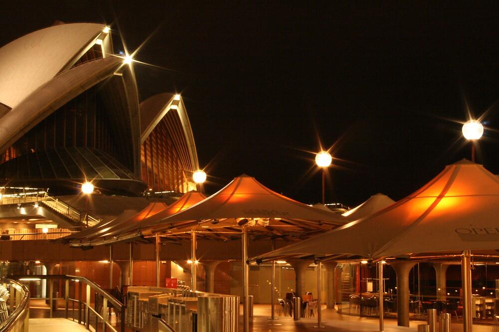 Sydney Opera House Bar by Kezzarama