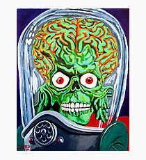 Mars Attacks Photographic Print