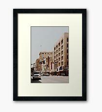 Downtown Los Angeles IV Framed Print