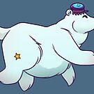 Eisbär mit Jelly Fish von Jujibla