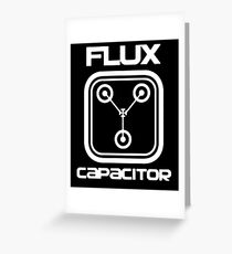 Flux Capacitor - T-shirt Greeting Card