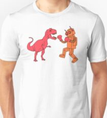 Robot Vs Dino - T-shirt Unisex T-Shirt