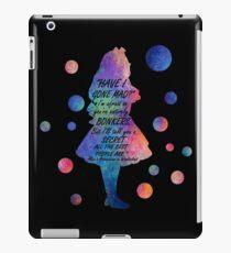 Vinilo o funda para iPad Colorido Alice In Wonderland Bonkers Cita