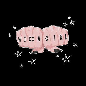 Wicca Coven Girl Gang Fists Knuckle Rune Symbols Tattoo by TrashTante