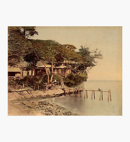 Honmoku bathing place, Japan Photographic Print