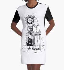 Mrs Lovett - Sweeney Todd Graphic T-Shirt Dress