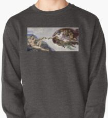 The Creation of Adam - Michelangelo  Pullover