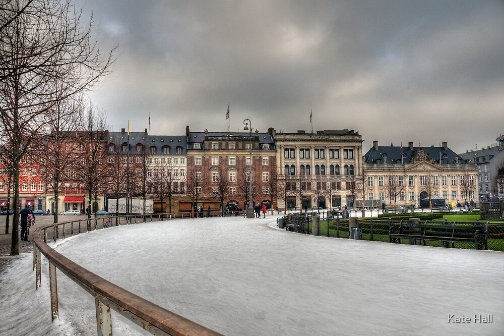 Kongens Nytorv, Winter 09 by Kate Hall