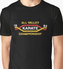 The Karate Kid - All Valley Championship distressed Variant 2 Graphic T-Shirt
