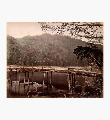 Togetsu bridge, Kyoto, Japan Photographic Print