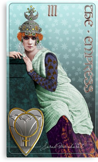Tarot: The Empress (III) by Ivy Izzard
