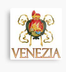 Venezia (Venice) Italy - Coat of Arms Metal Print
