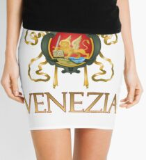 Venezia (Venice) Italy - Coat of Arms Mini Skirt