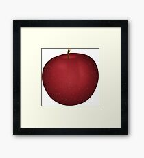 Apple fruit fruit gift Framed Print