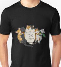 Sleepy Cats Unisex T-Shirt