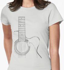 entallada mujer para guitarra entallada para guitarra mujer Camiseta Camiseta a7ffwX